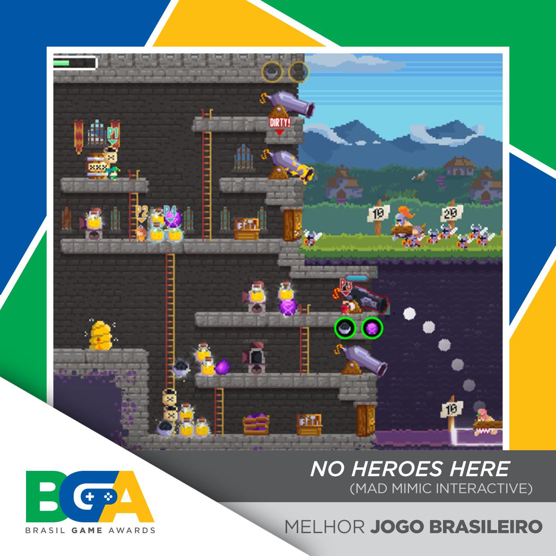 2 melhor jogo brasileiro